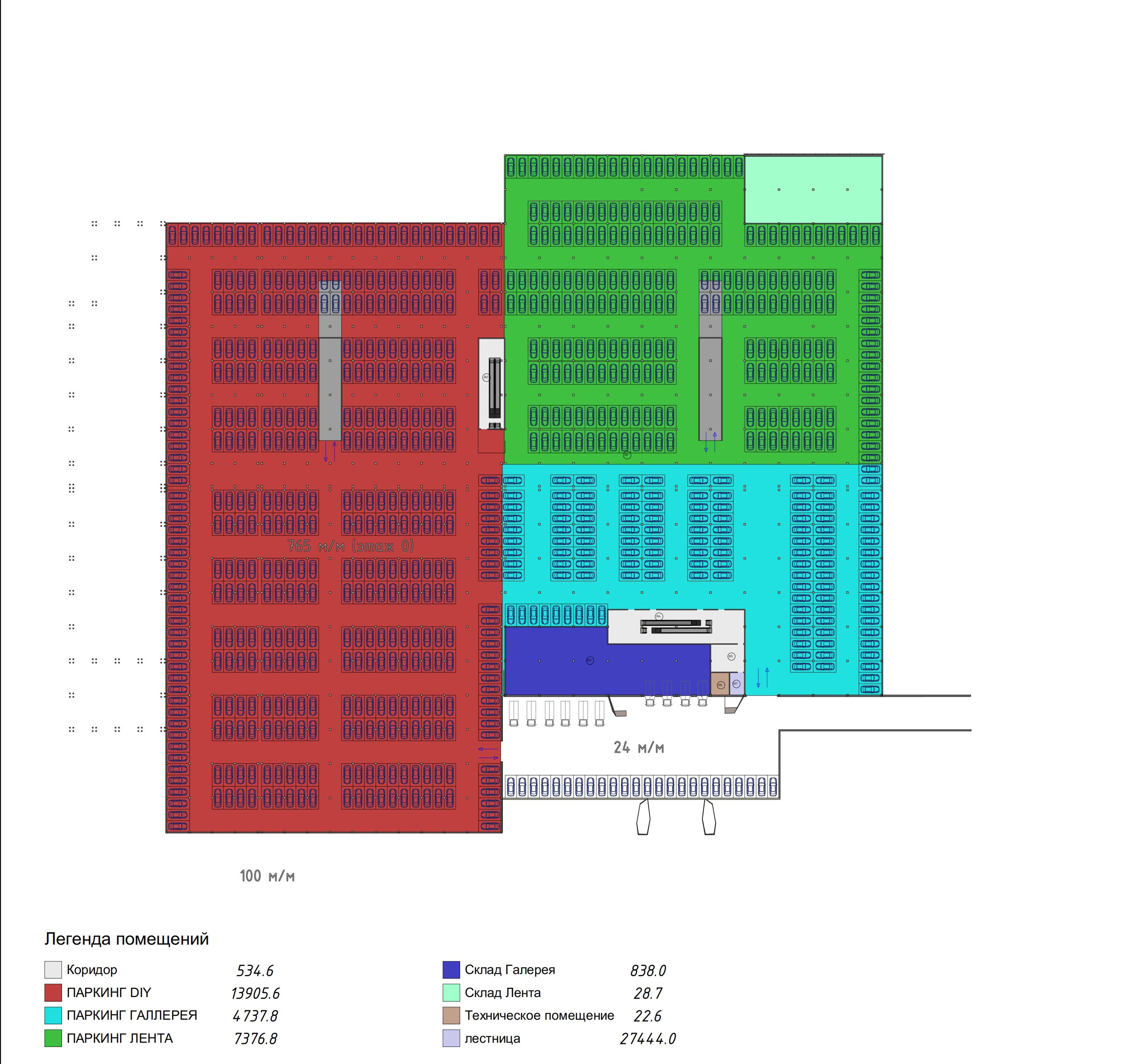 План -1го этажа