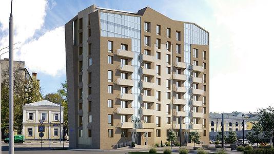 Рекострукция здания общежития под жилой дом с надстройкой 3-х этажей.