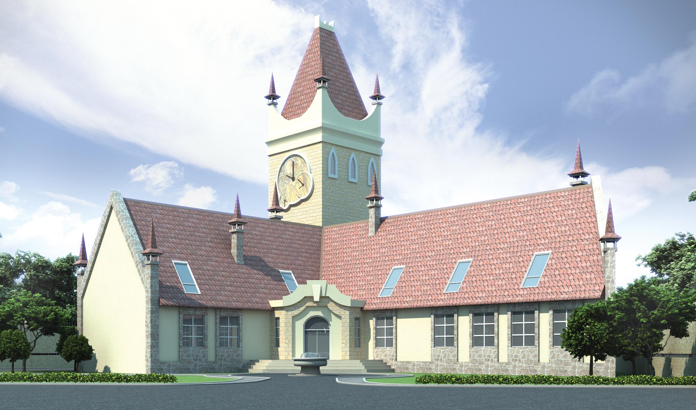 Административно-бытовое здание