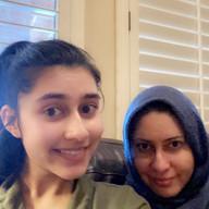 Iman and Saira