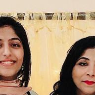 Afrah and Shabana