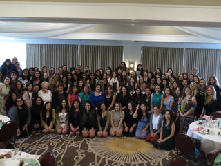 Theta Rho Chapter (CALIFORNIA STATE UNIVERSITY/LOS ANGELES) and Pasadena-Foothill Alumnae Celebrate