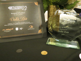 Theta Rho Chapter (California State University, Los Angeles) Sweeps 6 Annual University Standards of