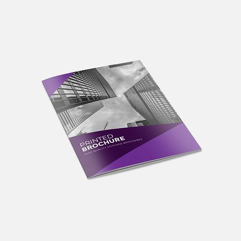 Stapled Booklets - Economy (Silk)