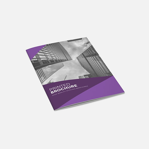 Stapled Booklets - Economy (Uncoated)