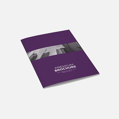 Stapled Booklets - Premium (Uncoated)