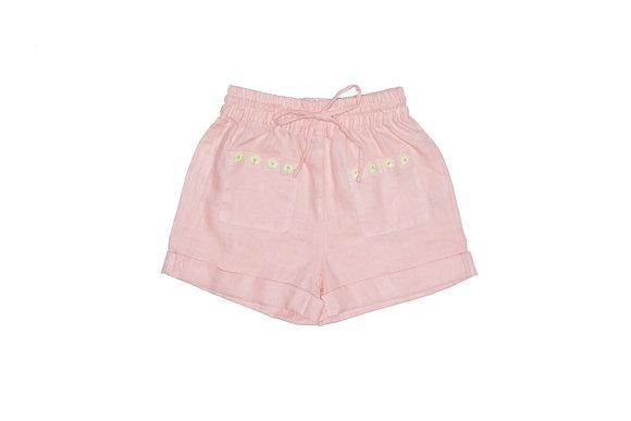 Daisy masey linen shorts