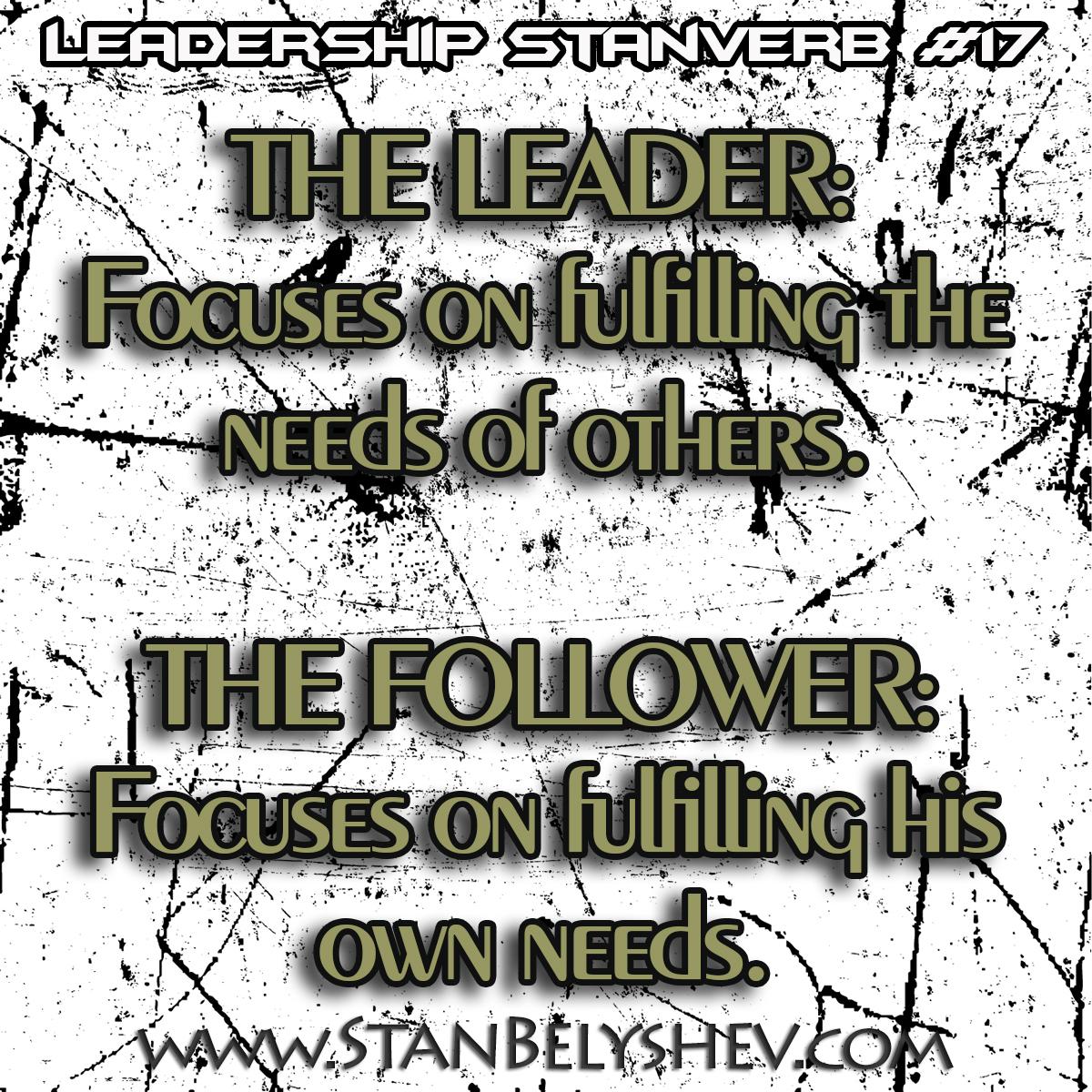 Leadership Stanverb 17