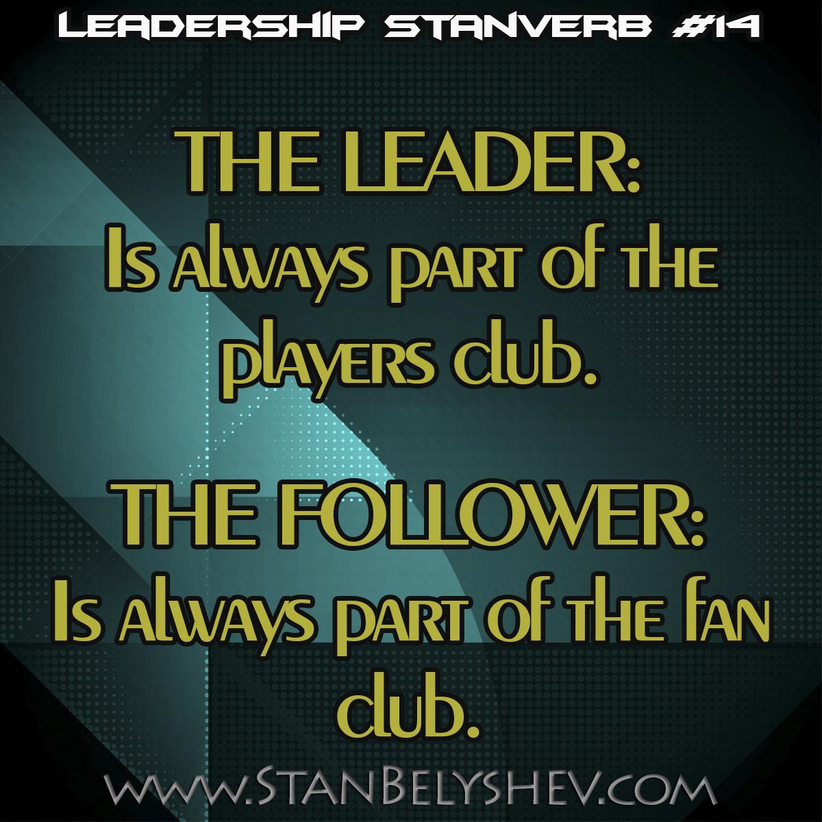 Leadership Stanverb 14