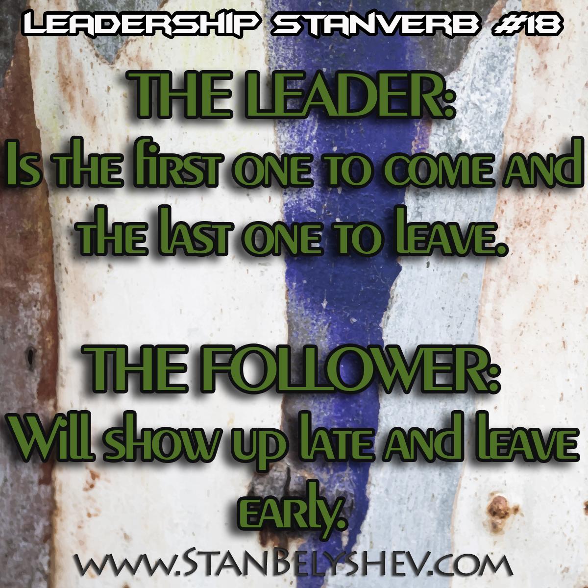 Leadership Stanverb 18