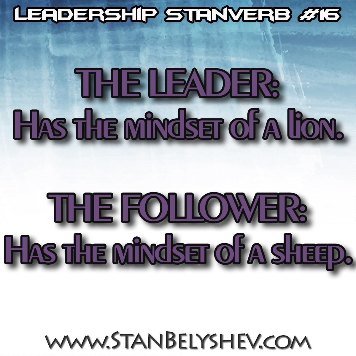 Leadership Stanverb 16