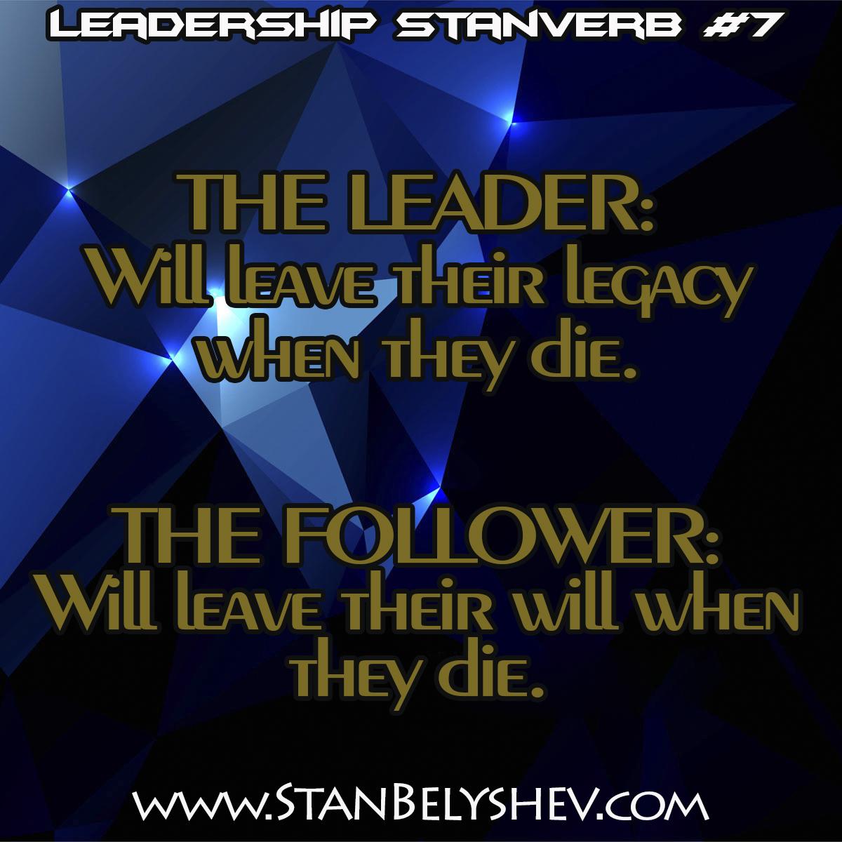 Leadership Stanverb 7