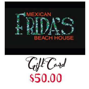 FRIDA'S Gift Card $50.00