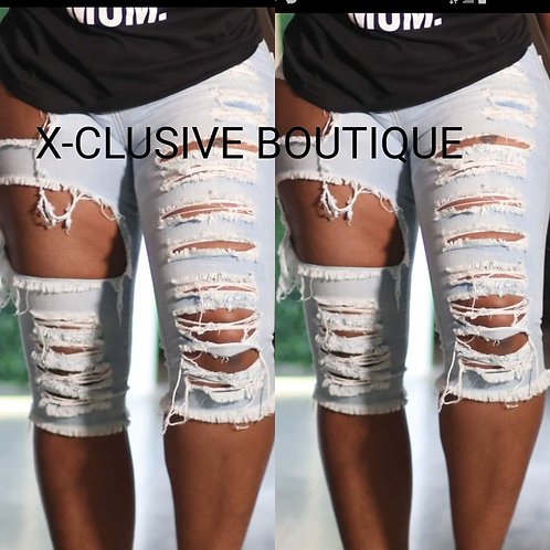 The Cut up shorts