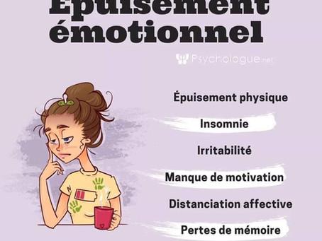 L'épuisement psychique et émotionnel