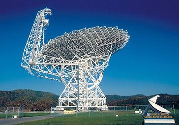 Green Bank Telescope at Green Bank Observatory, Green Bank, WV