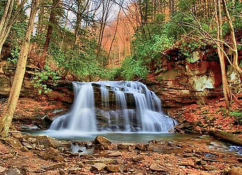 Holly River State Park, West Virginia's largest state park