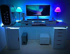 desk-setup-ideas-catchy-gaming-computer-