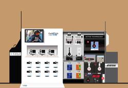 Electronics Shop Illustration