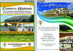 Cranberry Highlands before/after