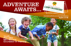 Camp half page ad