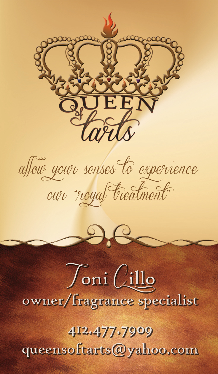Queen Of Tarts Card Front