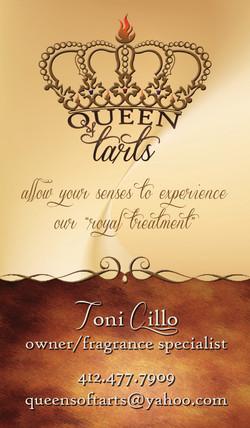 Queen Of Tarts Card Front
