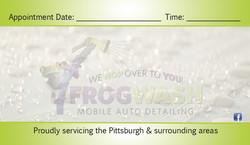 FrogWash Card Back
