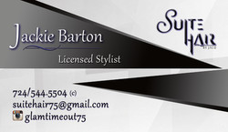 Suite Hair Card Front