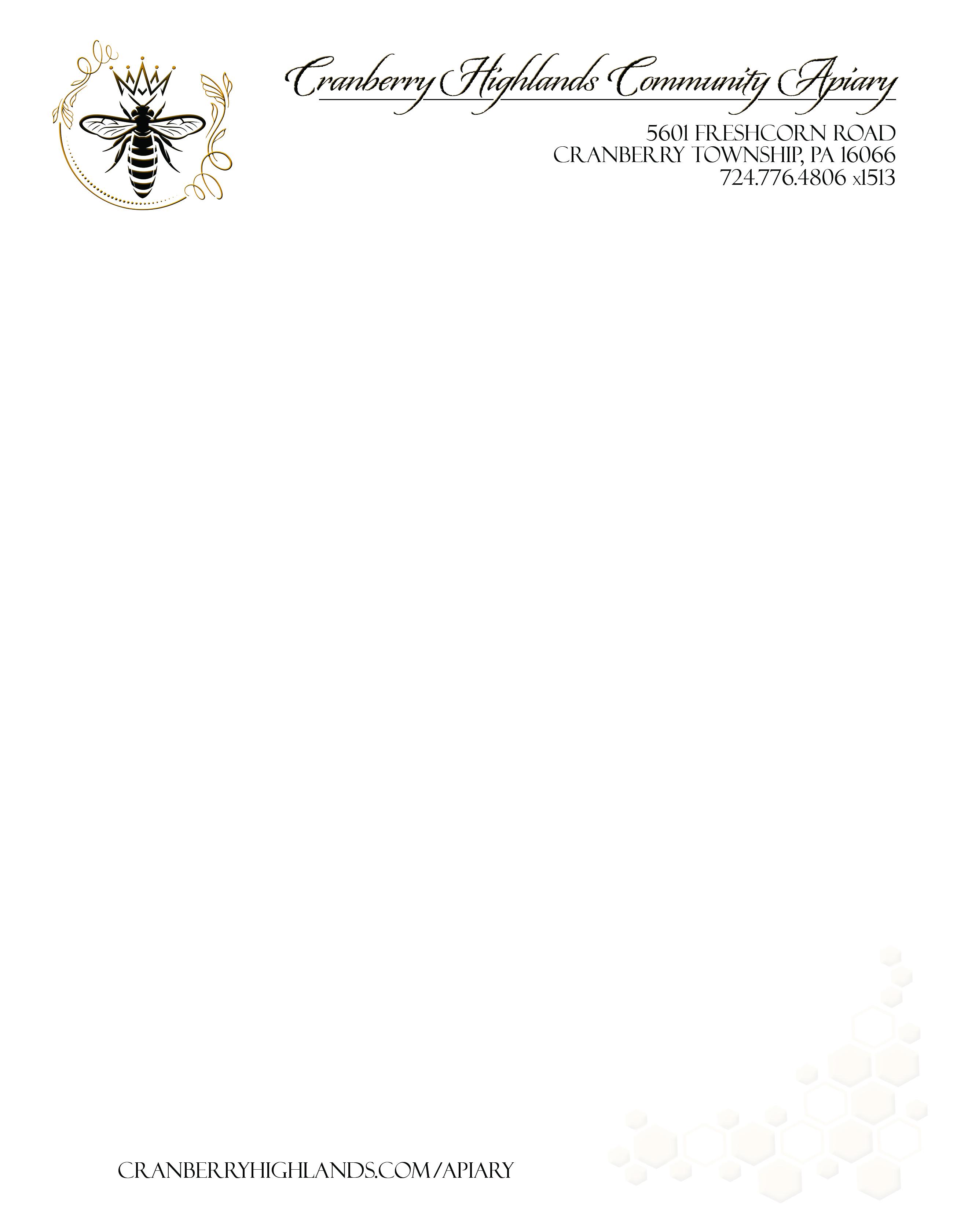 apiary letterhead