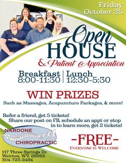 Nardone Open House Flyer