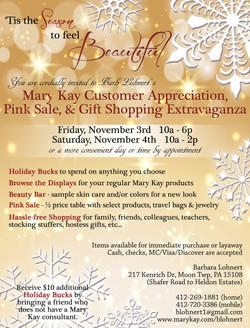 MK Holiday Invitation