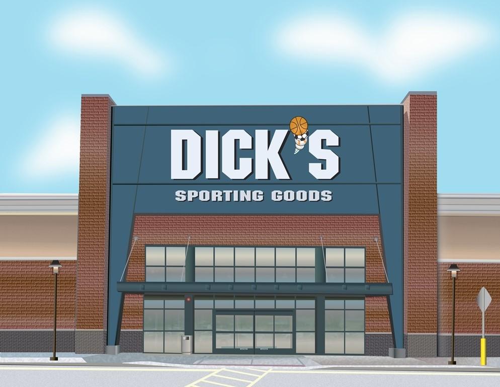 Illustration - new Dick's Storefront