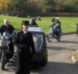 Motor bike Funeral