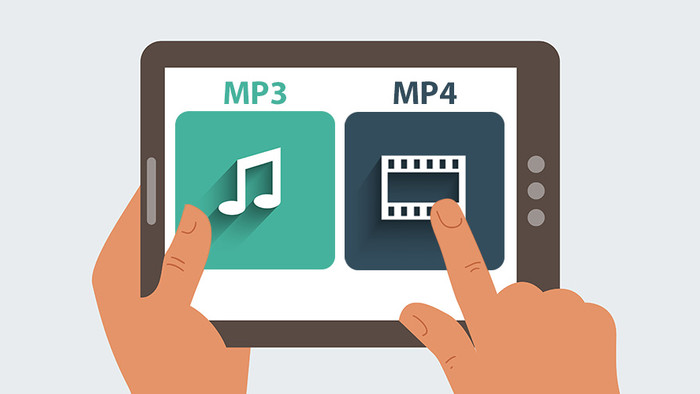 The difference between MP3 and MP4