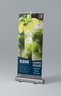 Provident Happy Hour Banner Roll-up