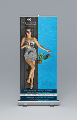 Provident Trade Show Banner Roll-up