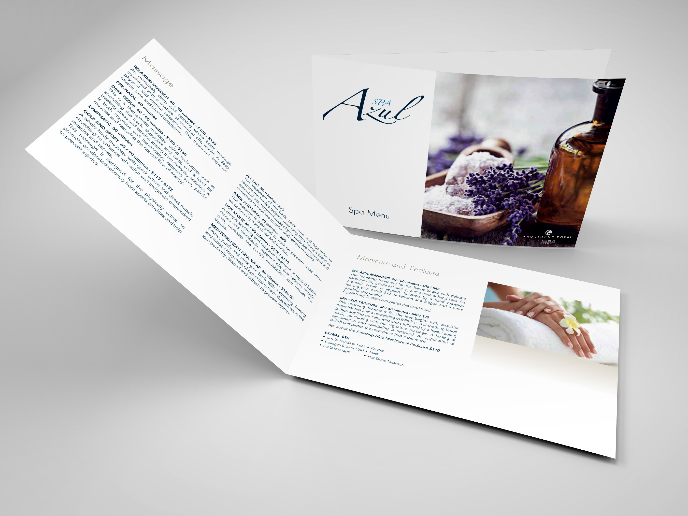 Spa Azul Brochure