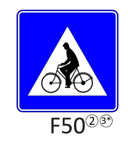 Verkeersbord F50 - klasse 2