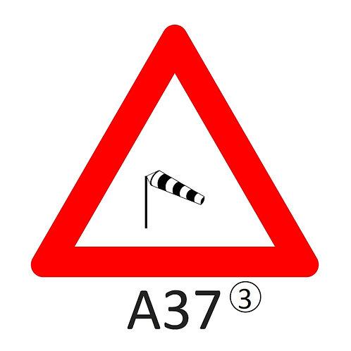 Verkeersbord A37 - klasse 3