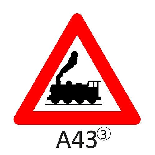 Verkeersbord A43 - klasse 3
