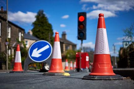 signalisatie omleiding verkeersborden verkeerslichten kegels huren