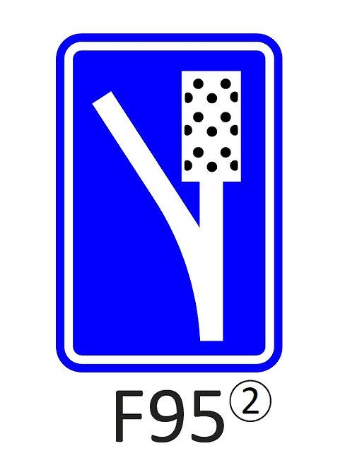Verkeersbord F95 - klasse 2