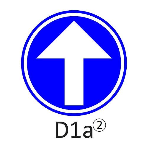 Verkeersbord D1 a, b, c, d, e, f - klasse 2