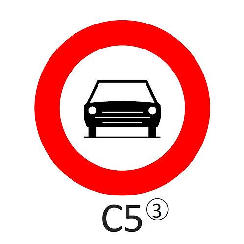 Verkeersbord C5 - klasse 3