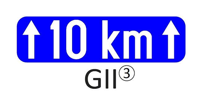 Onderbord GII - klasse 1, 2 of 3