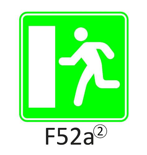 Verkeersbord F52 a, b - klasse 2