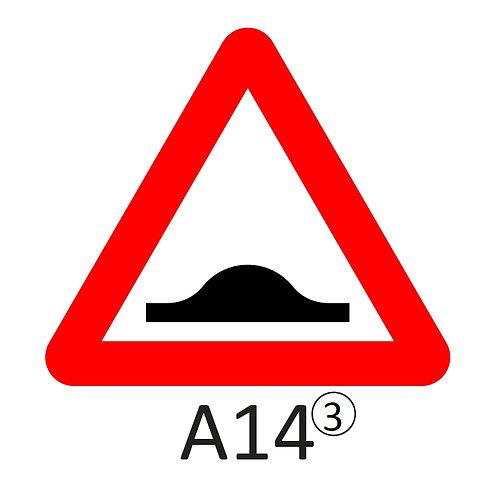 Verkeersbord A14 - klasse 3