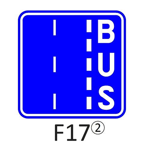 Verkeersbord F17 - klasse 2