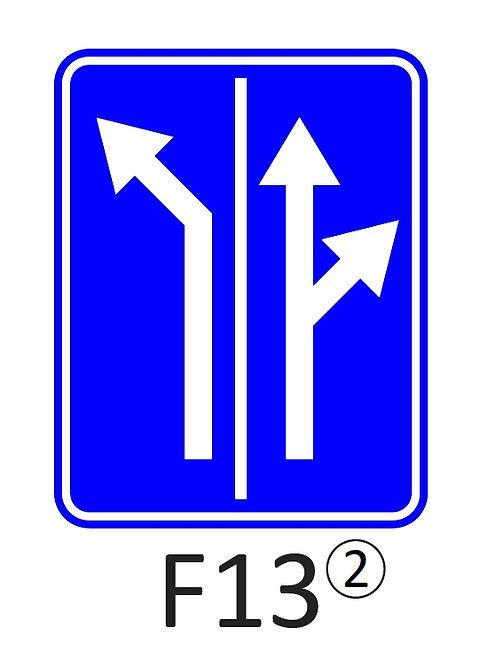 Verkeersbord F13 - klasse 2